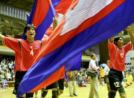 Disabled Volleyball World cup 2011 in Cambodia kicks off in one week.